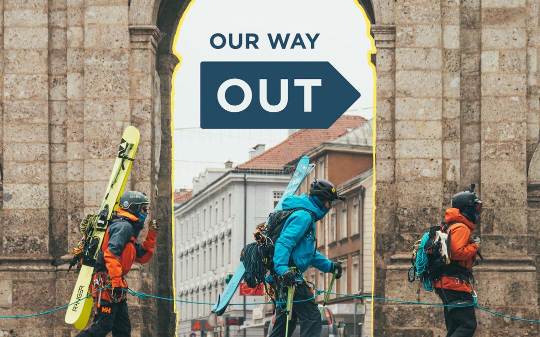 Wir legen mit #OURWAYOUT den Fokus auf Mobilität