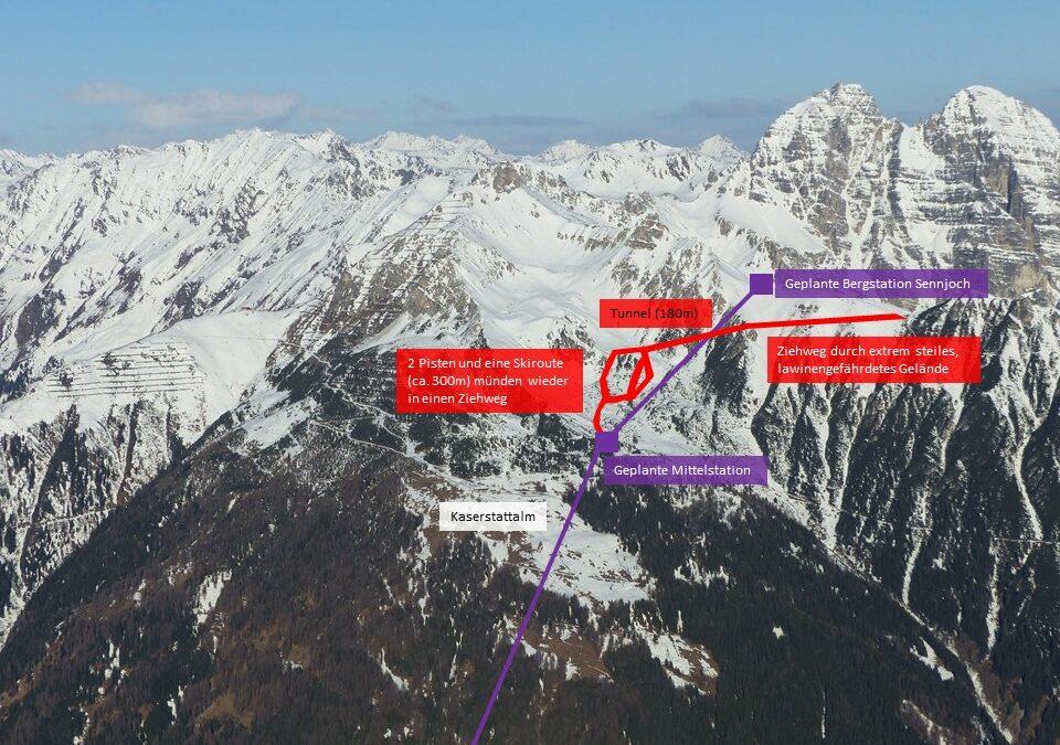 Stellungnahme von POW AT zu den Skigebietserweiterungsplänen im Stubaital