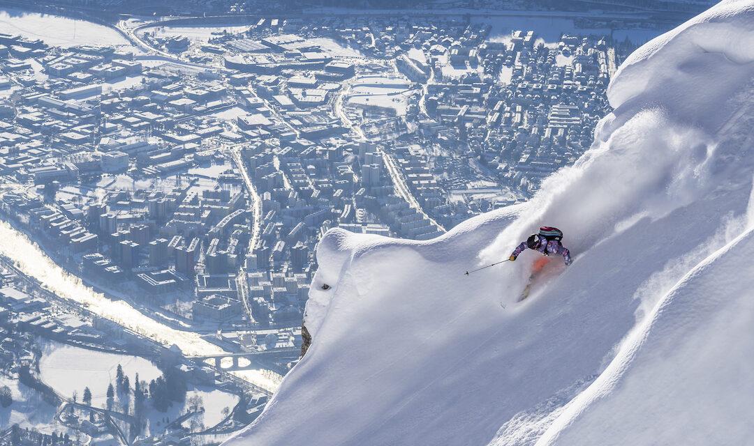 Die Nordkette: Weltbekanntes Freeride-Gebiet und internationaler Ausflugsberg mitten in der Stadt